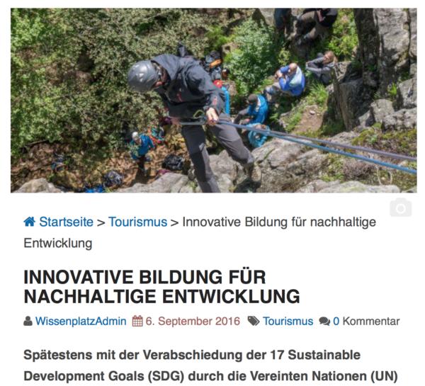 New publication:Innovative Education on Sustainable Development