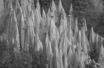 Earth Pyramids near the Dolomites
