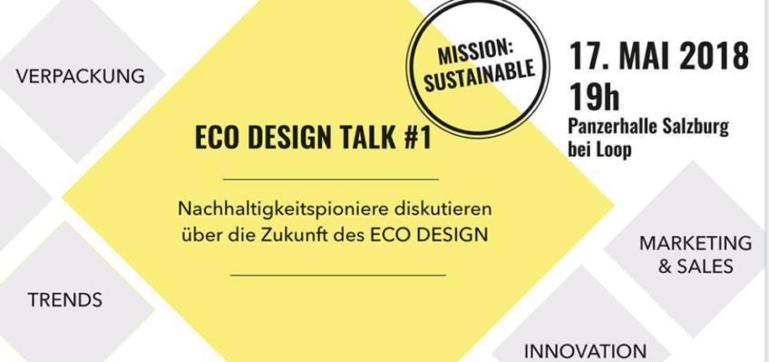 Podium speaker @ Eco Design Talk, Salzburg, Austria