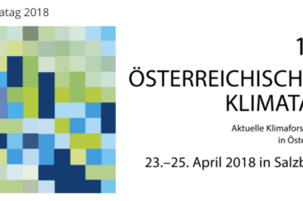 Invited keynote speaker: Austrian Climate Day 2018
