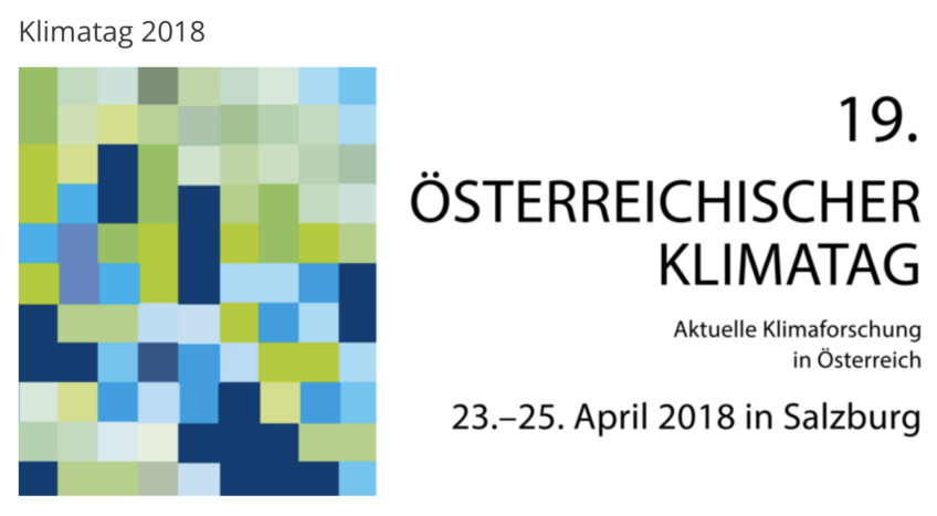 Invited keynote speaker: Austrian Climate Day 2018