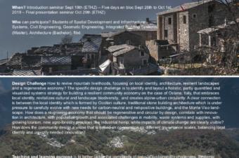 "ETH Zurich field block course ""Systemic Design Labs"""