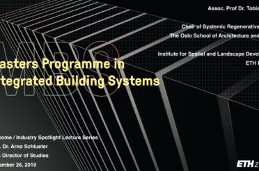 Invited talk at ETH Zurich: Regenerative Design – Scaling Circularity beyond Materials