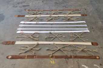 Teaching systemic regenerative design by building hemp composite skis