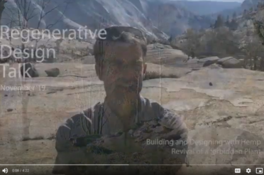 "Video ""Regenerative Design Talk on Building and Designing with Hemp"""