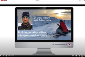 Webinar: How to build a climate-positive future around snow and mountain tourism?