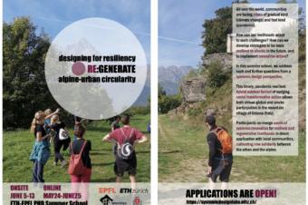 PhD Summer School by ETHZ, EPFL, and MonViso Institute