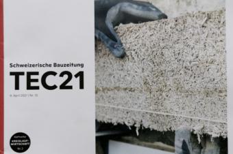 Real-world lab design @MonViso Institute featured in Swiss architectural magazine TEC21