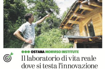 Interview report in Italiano: Il laboratorio di vita reale dove si testa l'innovazione
